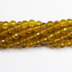 Beads Agate-faceted 8mm (0208074G)