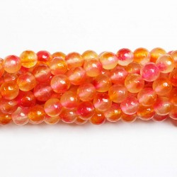 Beads Agate-faceted 8mm (0208072G)
