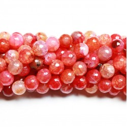 Beads Agate-faceted 10mm (0210002G)