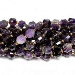 Beads Amethyst-faceted 10x9mm (0610005G)