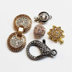 Clasps with inserts