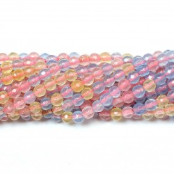 Beads Agate-faceted 4mm (0204028G)