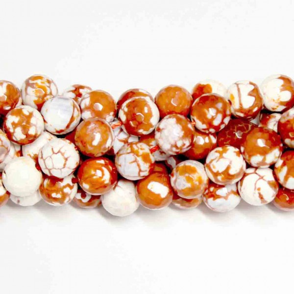 Beads Agate-faceted 10mm (0210011G)
