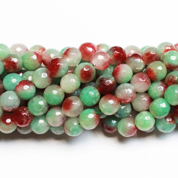 Beads Agate-faceted 10mm (0210005G)