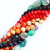 Natural stones beads (38cm)