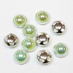 Plastic buttons 8,5x6mm 10 psc. (PP0810)