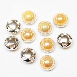 Plastic buttons 8,5x6mm 10 psc. (PP0827)