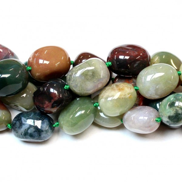 Beads Agate 20x15mm (0220001)