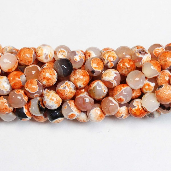 Beads Agate-faceted 10mm (0210024G)