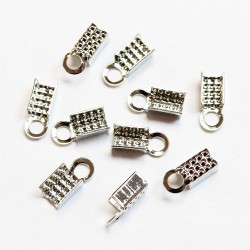 Crimps 9x3mm ~10pcs. (F00M1220)