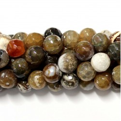 Beads Agate-faceted 14mm (0214005G)