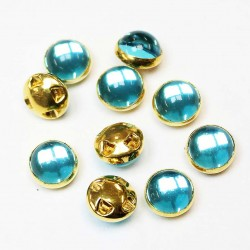Plastic buttons 8,5x6mm 10 psc. (PP0823)